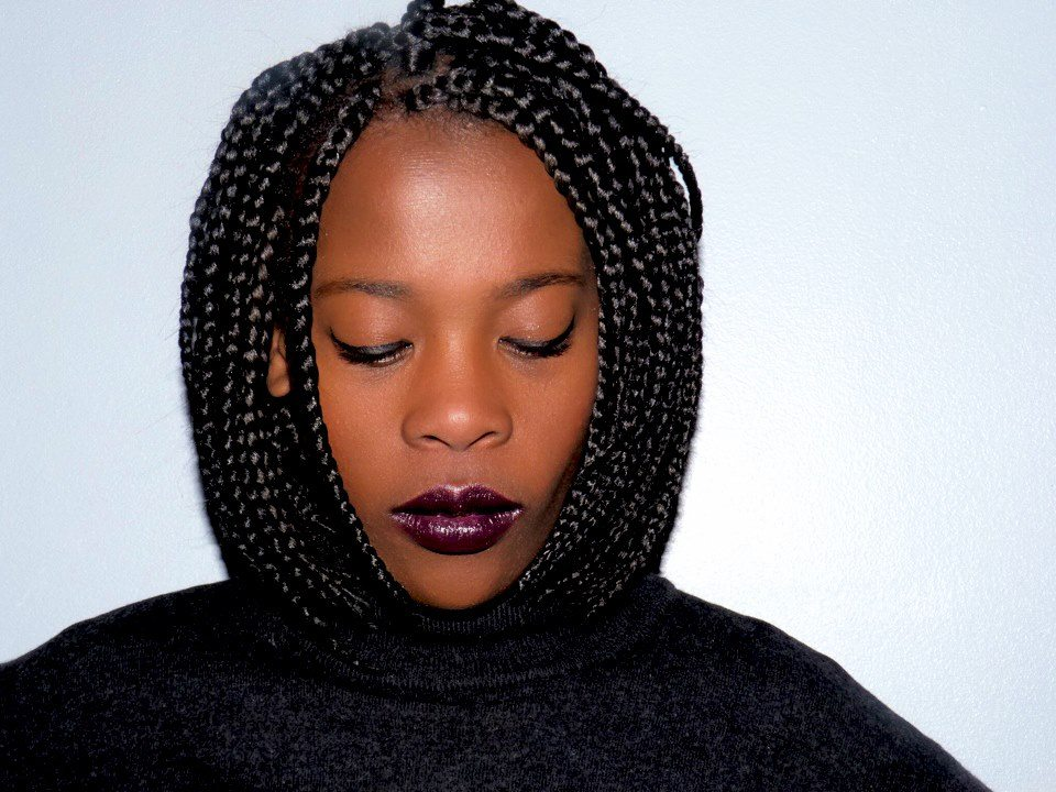 Box Braids en Carré latelierbycolette