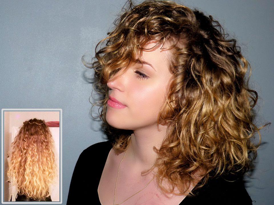Hair Contouring lumière Coupe mi-longue sur boucle latelierbycolette