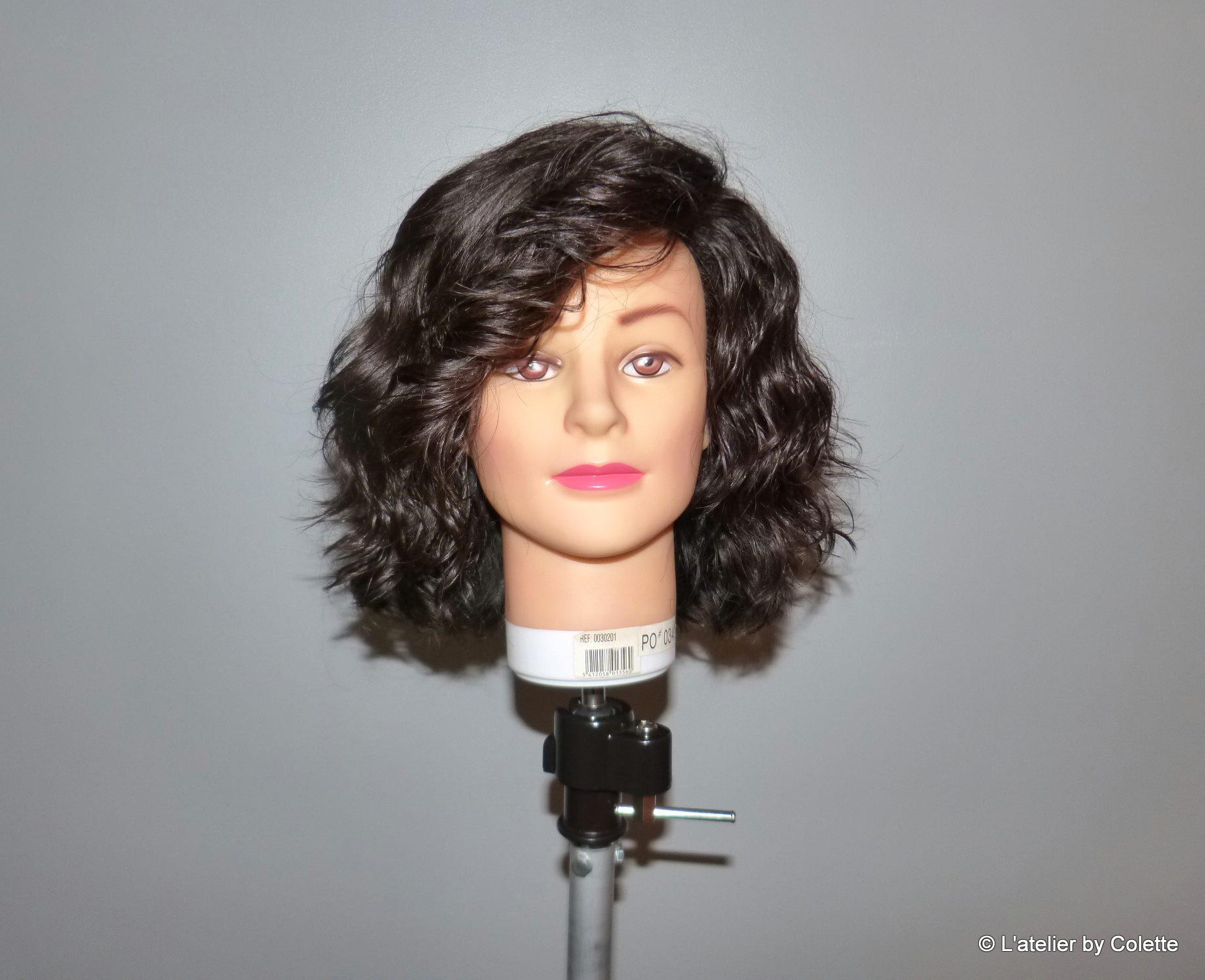perruque coupe courte ondulée latelierbycolette