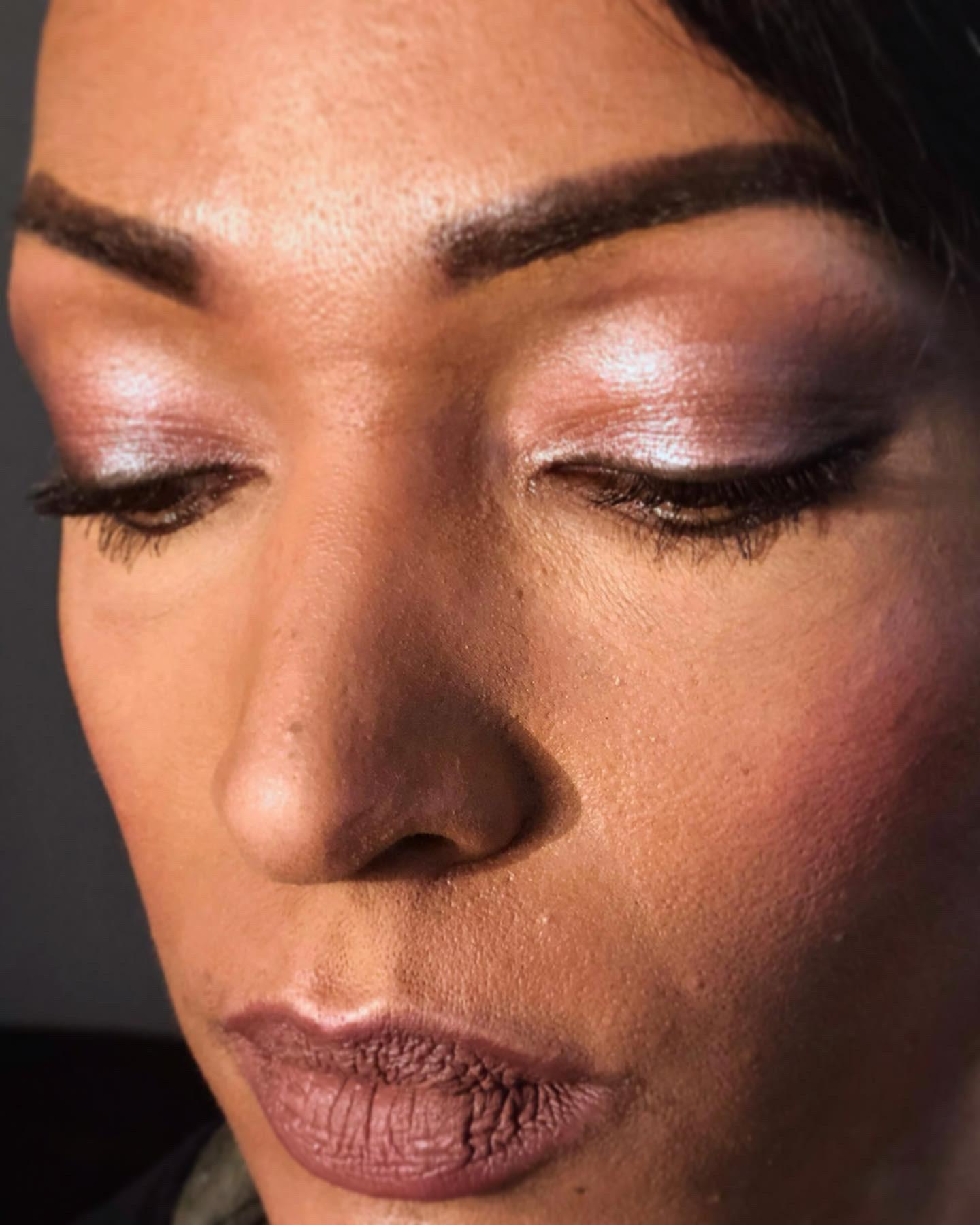 essai maquillage taupe vieux rose mariage melanie latelierby colette 2019 2