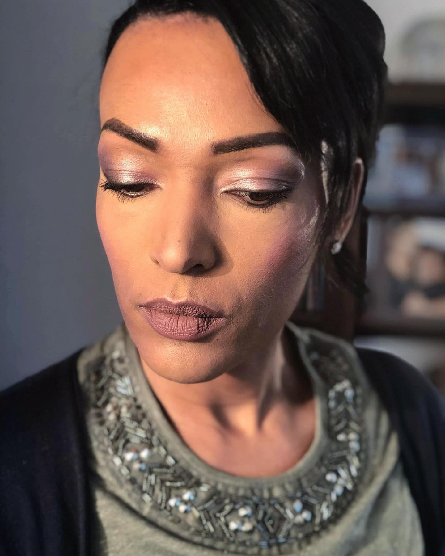 essai maquillage taupe vieux rose mariage melanie latelierby colette 2019